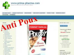 anti poux sur internet