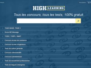 concours avenir, tests concours en ligne