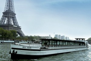 location bateau Paris
