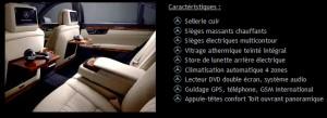 voiture haut de gamme avec chauffeur privé