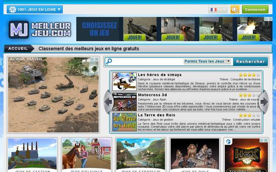 Site internet des meilleurs jeux en ligne
