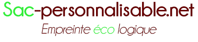 sac personnalisable bio