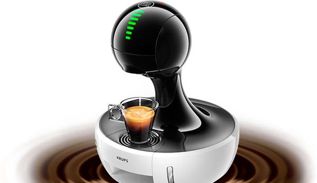 Une machine à café futuriste