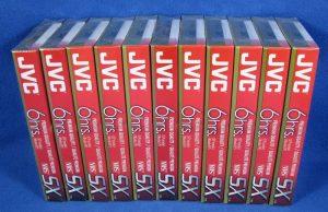 K7 VHS JVC